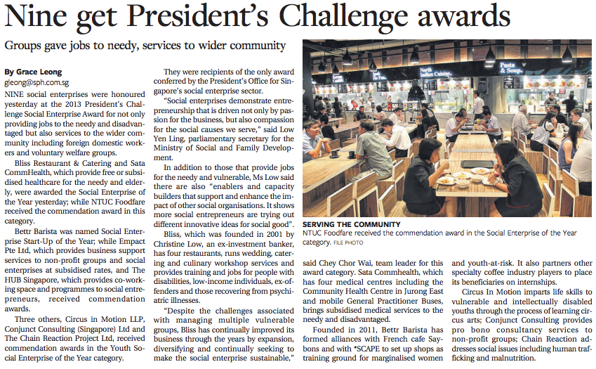Conjunct Consulting - Nine get President's Challenge Awards