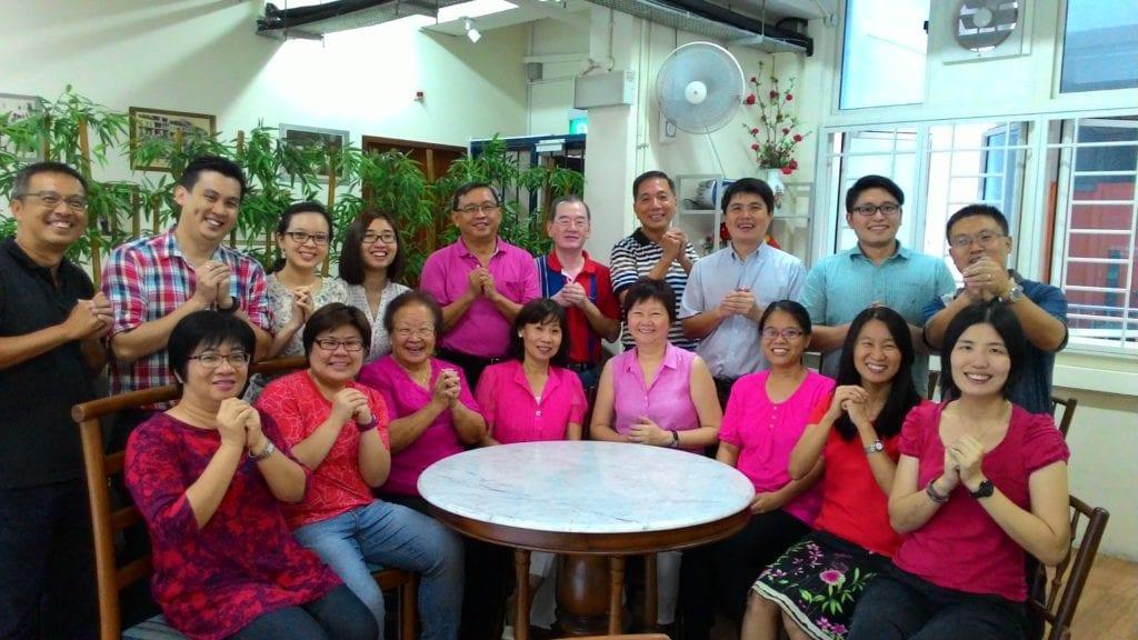 Staff & Volunteers at O Joy care
